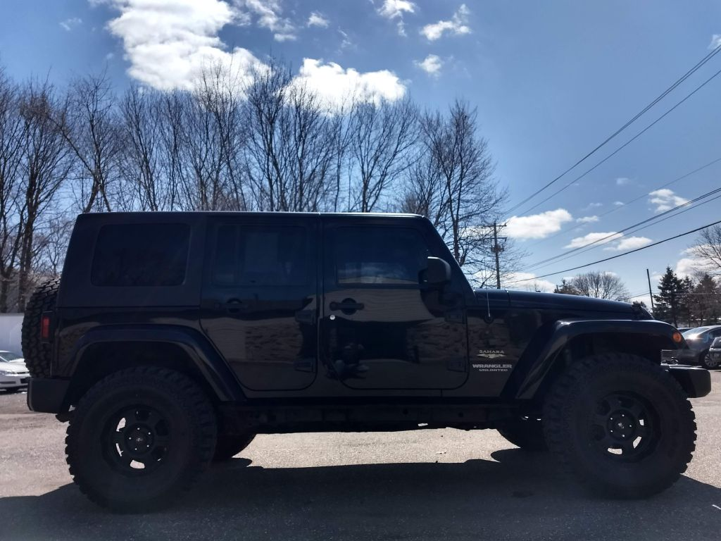 2008 JEEP WRANGLER UNLIMI SAHARA for sale at Stark Auto Sales