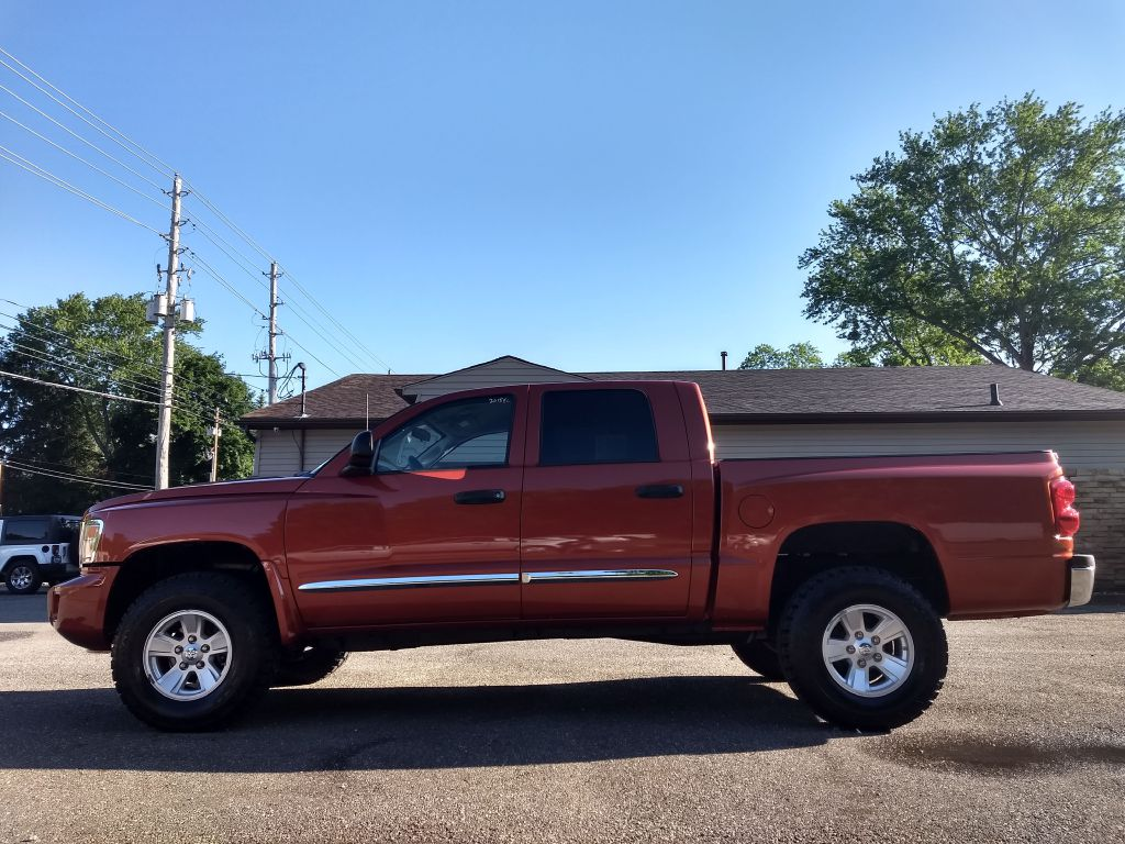 2008 DODGE DAKOTA QUAD LARAMIE for sale at Stark Auto Sales