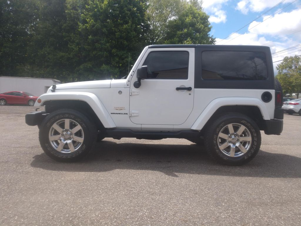 2013 JEEP WRANGLER SAHARA for sale at Stark Auto Sales