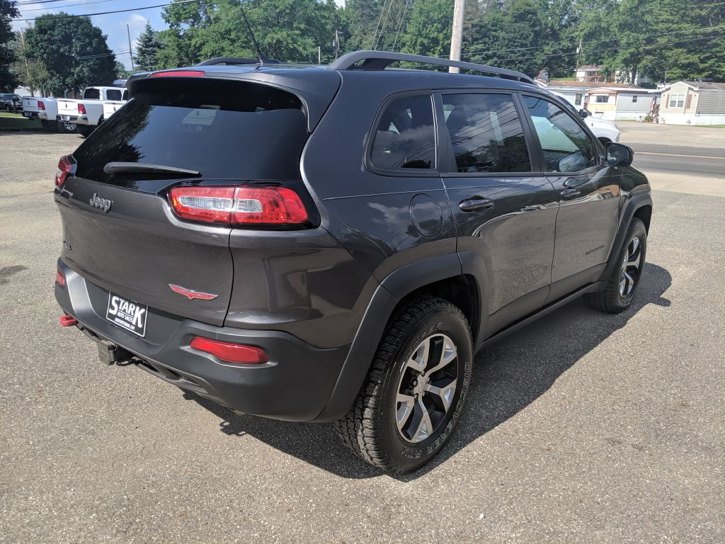 2014 JEEP CHEROKEE TRAILHAWK for sale at Stark Auto Sales