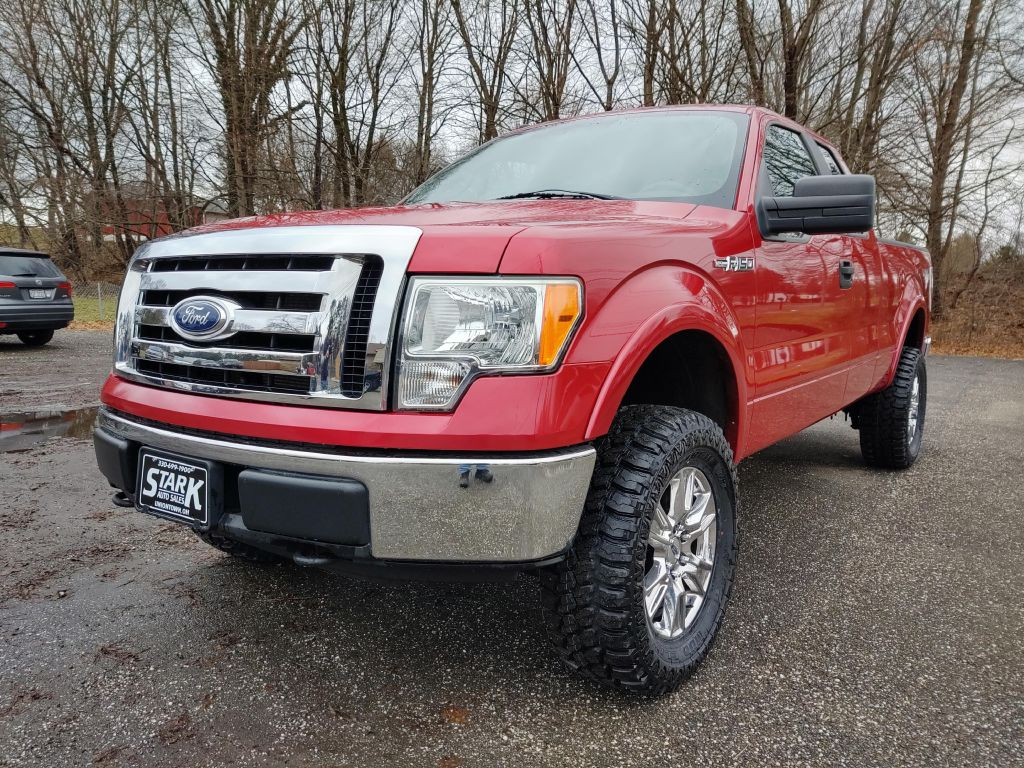 2010 FORD F150 SUPER CAB for sale at Stark Auto Sales