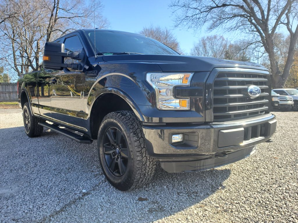 2015 FORD F150 SUPER CAB for sale at Stark Auto Sales