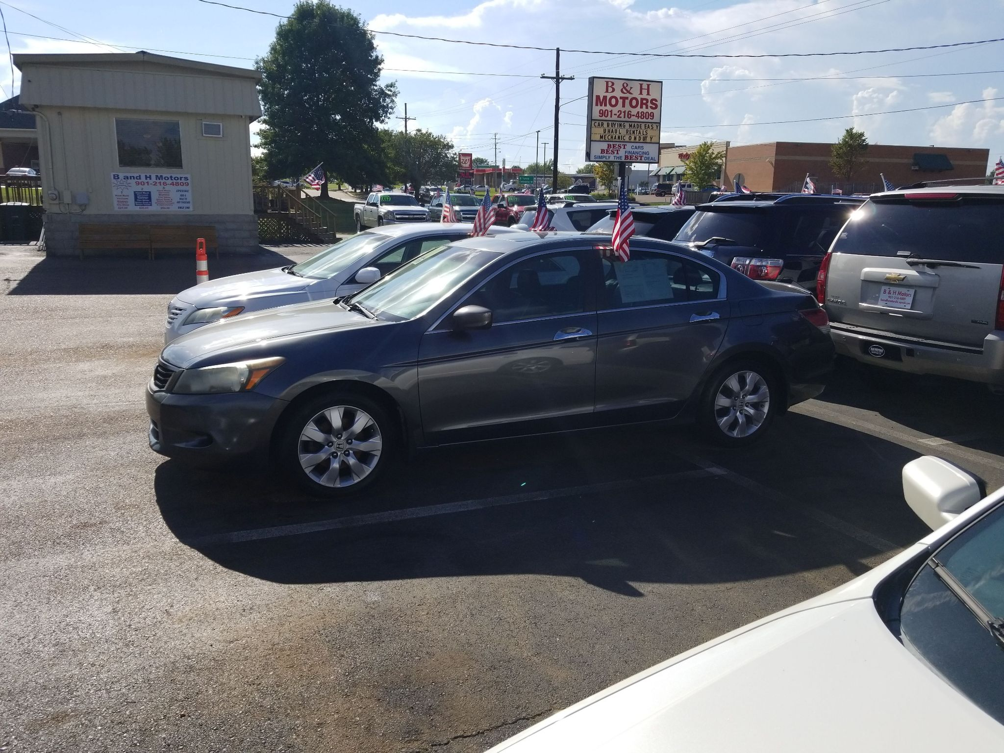 2009 HONDA ACCORD 1HGCP36899A002331 B & H MOTORS, LLC