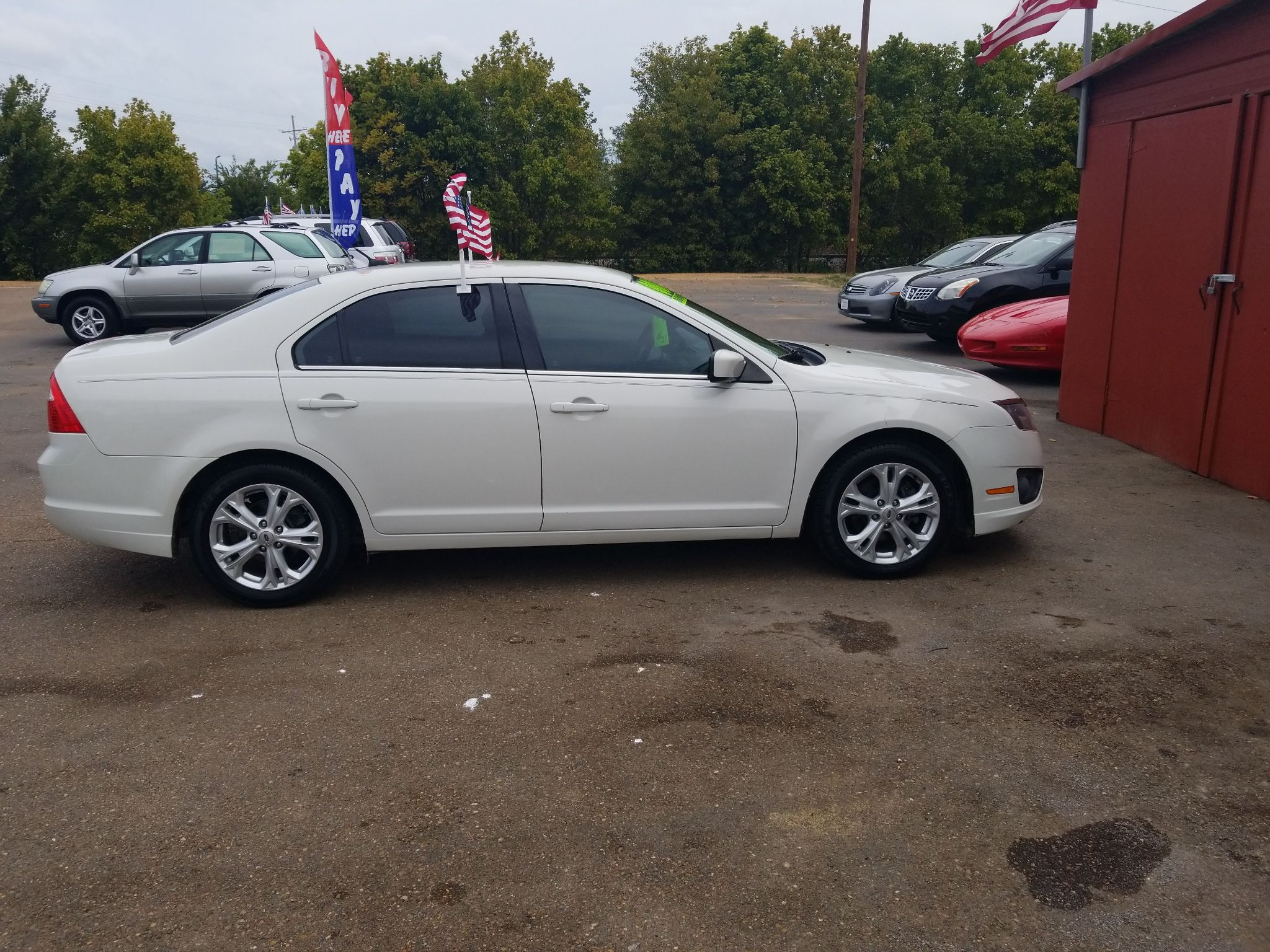 2012 FORD FUSION 3FAHP0HA1CR333037 B & H MOTORS, LLC