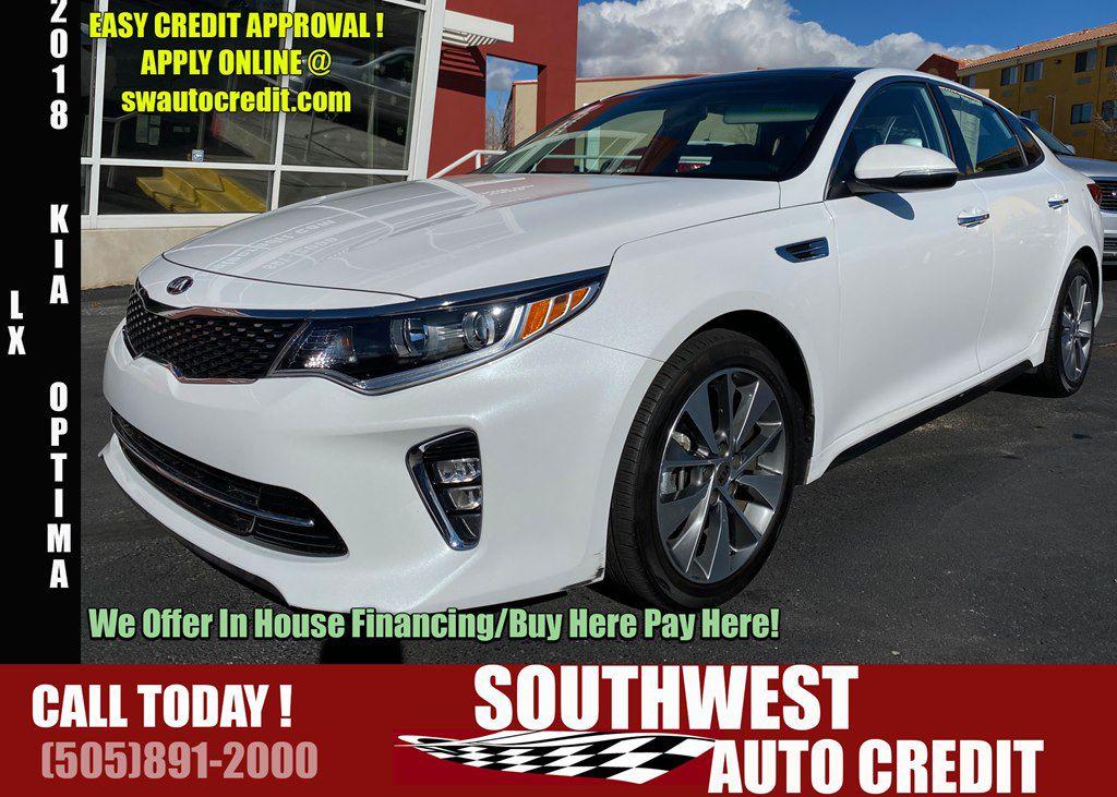 Southwest Auto Credit >> Used 2018 Kia Optima Lx In Rio Rancho Nm Auto Com 5xxgt4l3xjg250350