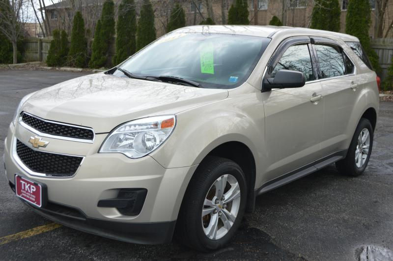 2011 CHEVROLET EQUINOX LS for sale in Eastlake, Ohio