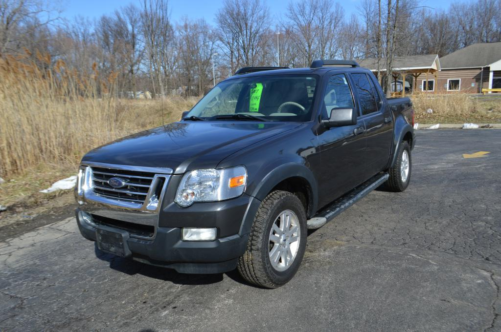 2007 FORD EXPLORER SPORT XLT for sale in Eastlake, Ohio