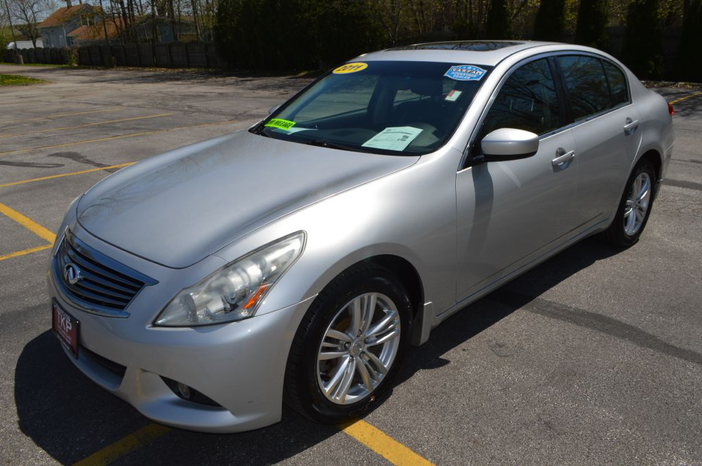 2011-INFINITI-G37 X--FOR-SALE-Eastlake-Ohio for sale at TKP Auto Sales