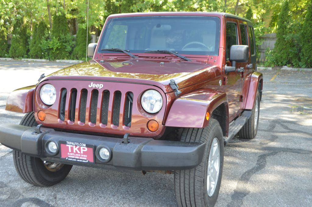 2007 JEEP WRANGLER SAHARA for sale at TKP Auto Sales