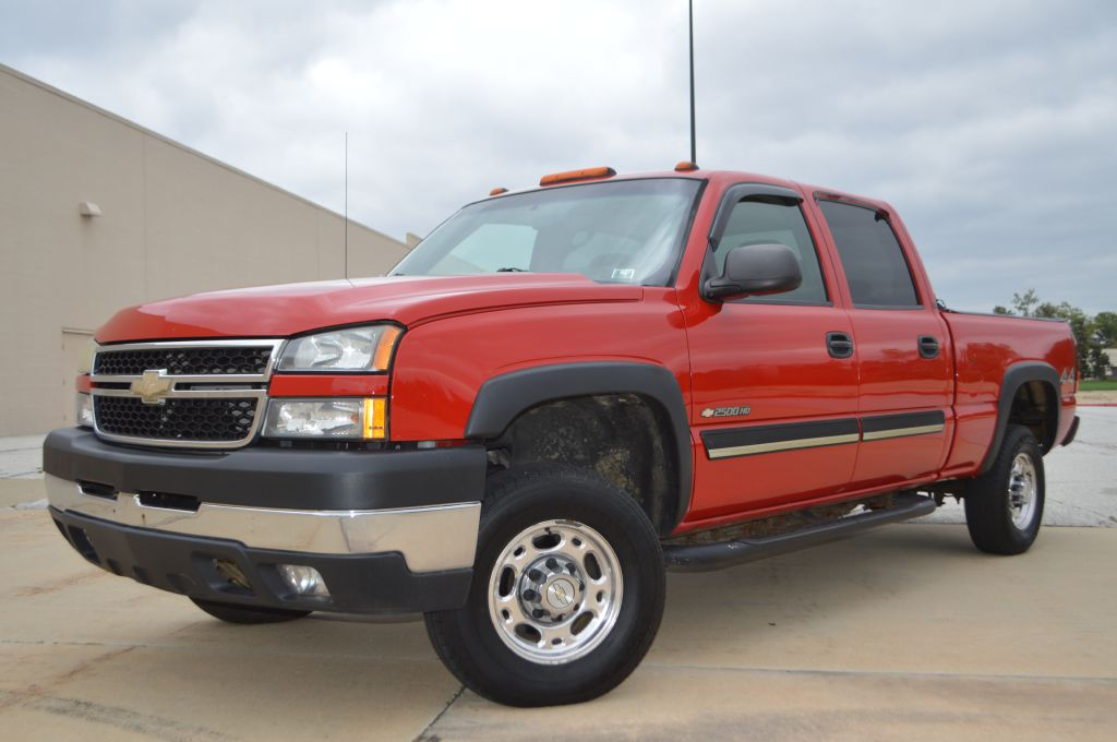2007 CHEVROLET SILVERADO 2500  HEAVY DUTY for sale in Eastlake, Ohio