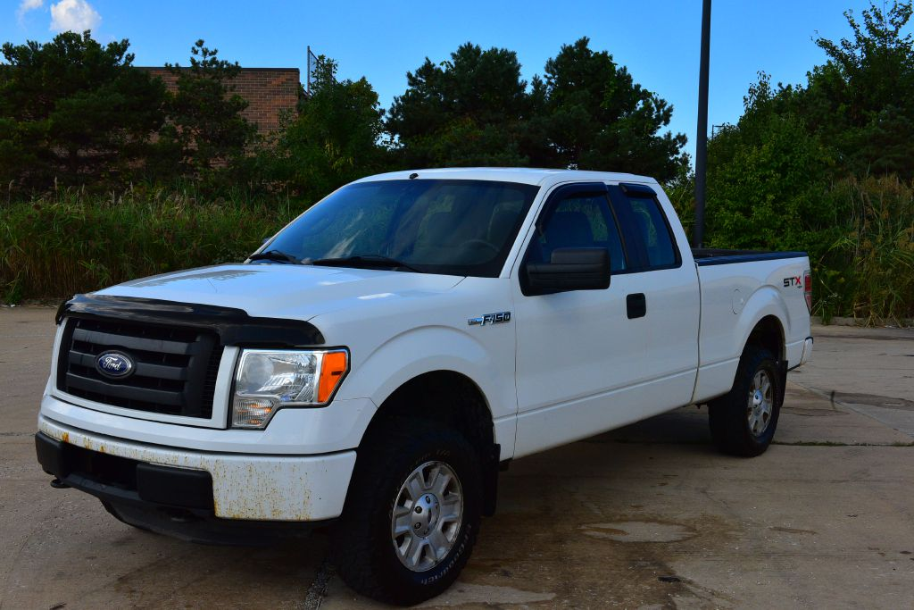 2011 FORD F150 SUPER CAB STX for sale in Eastlake, Ohio