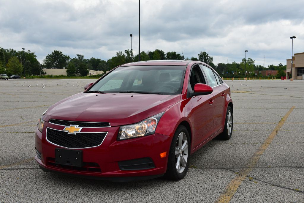 2012 CHEVROLET CRUZE LT for sale in Eastlake, Ohio
