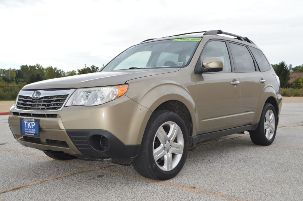 2009 SUBARU FORESTER 2.5X PREMIUM for sale in Eastlake, Ohio