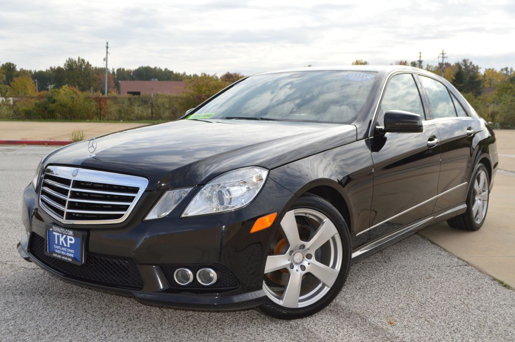 2010 MERCEDES-BENZ E-CLASS E350 4MATIC for sale in Eastlake, Ohio