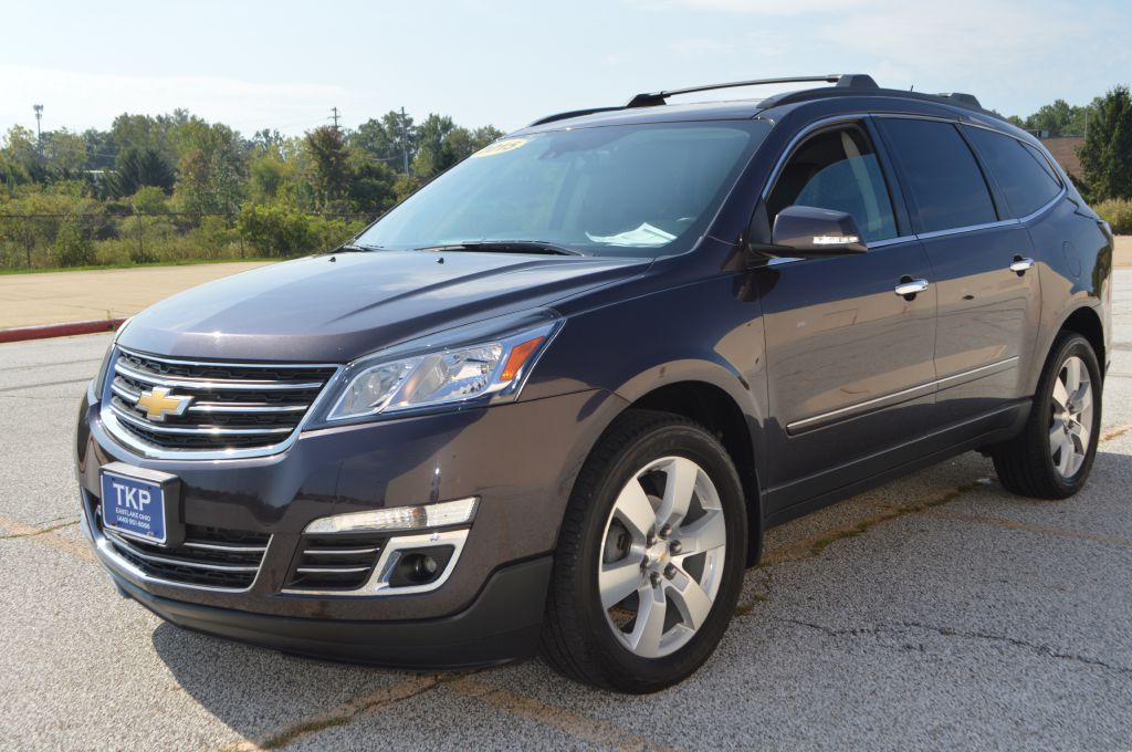 2015 CHEVROLET TRAVERSE LTZ for sale in Eastlake, Ohio
