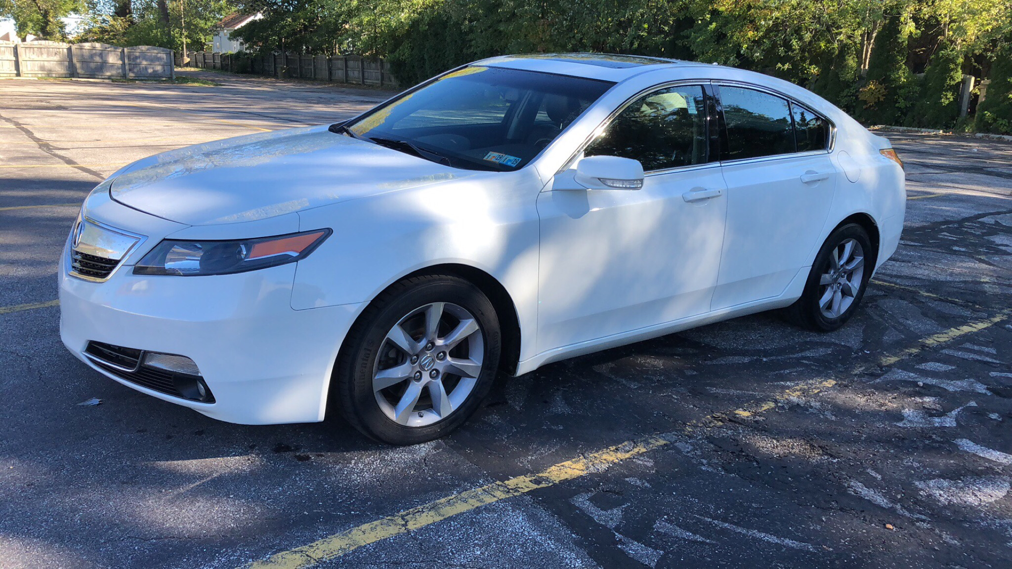 2013 ACURA TL  for sale in Eastlake, Ohio