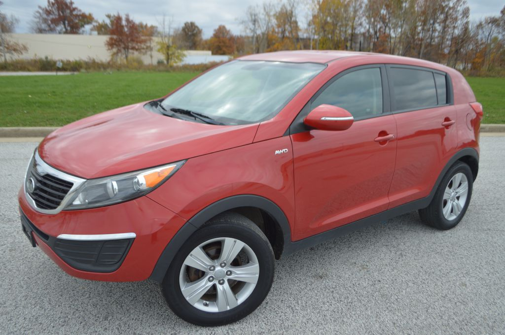 2012 KIA SPORTAGE for sale at TKP Auto Sales