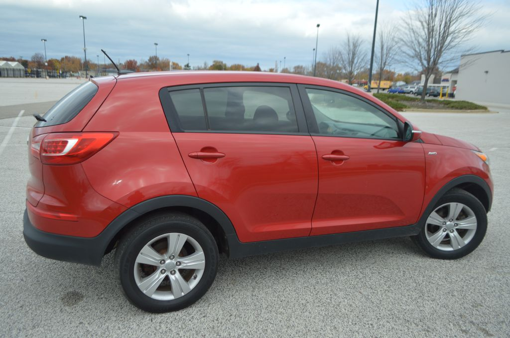 2012 KIA SPORTAGE LX for sale at TKP Auto Sales