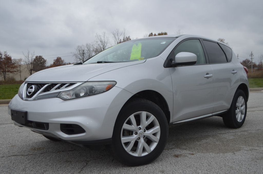 2012 NISSAN MURANO for sale at TKP Auto Sales