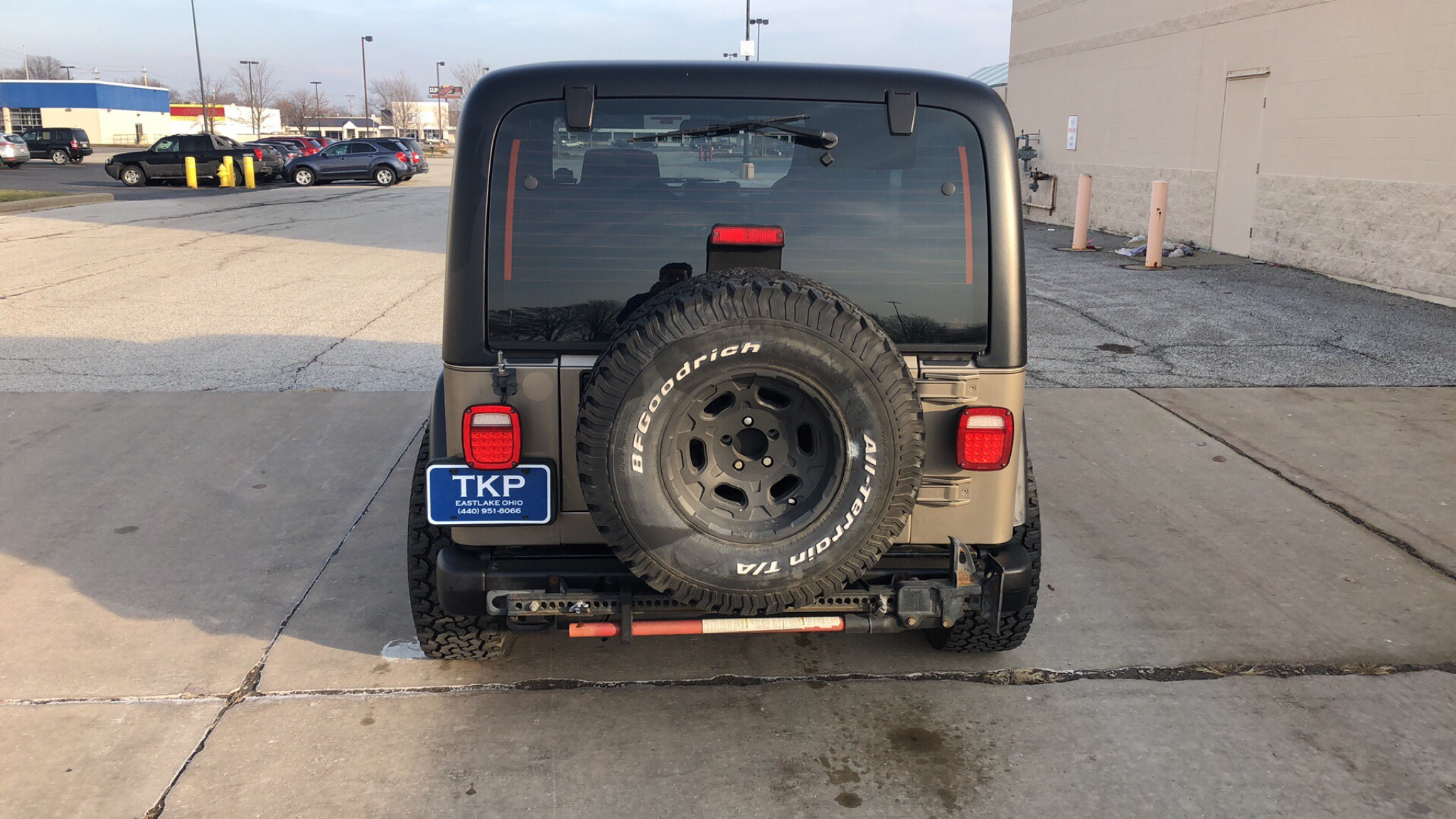 2004 JEEP WRANGLER / TJ SPORT for sale at TKP Auto Sales