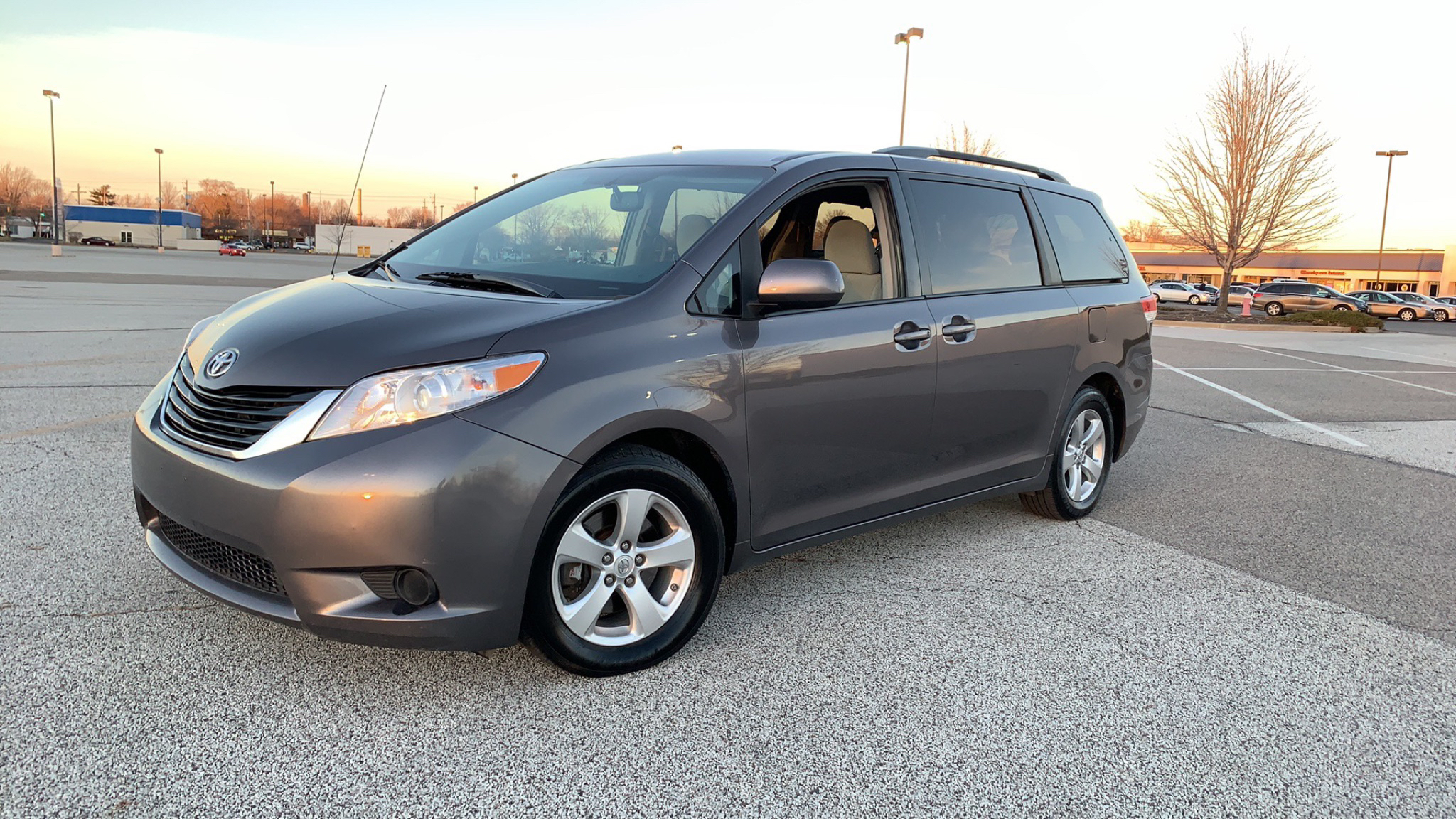 2014 TOYOTA SIENNA for sale at TKP Auto Sales