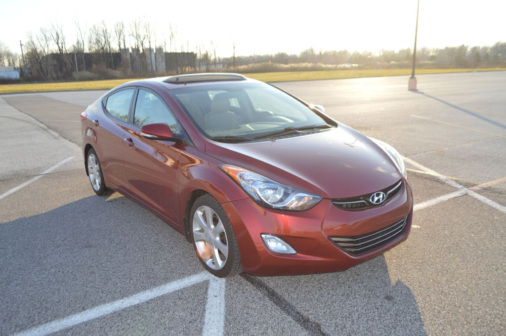 2013 HYUNDAI ELANTRA LIMITED for sale at TKP Auto Sales
