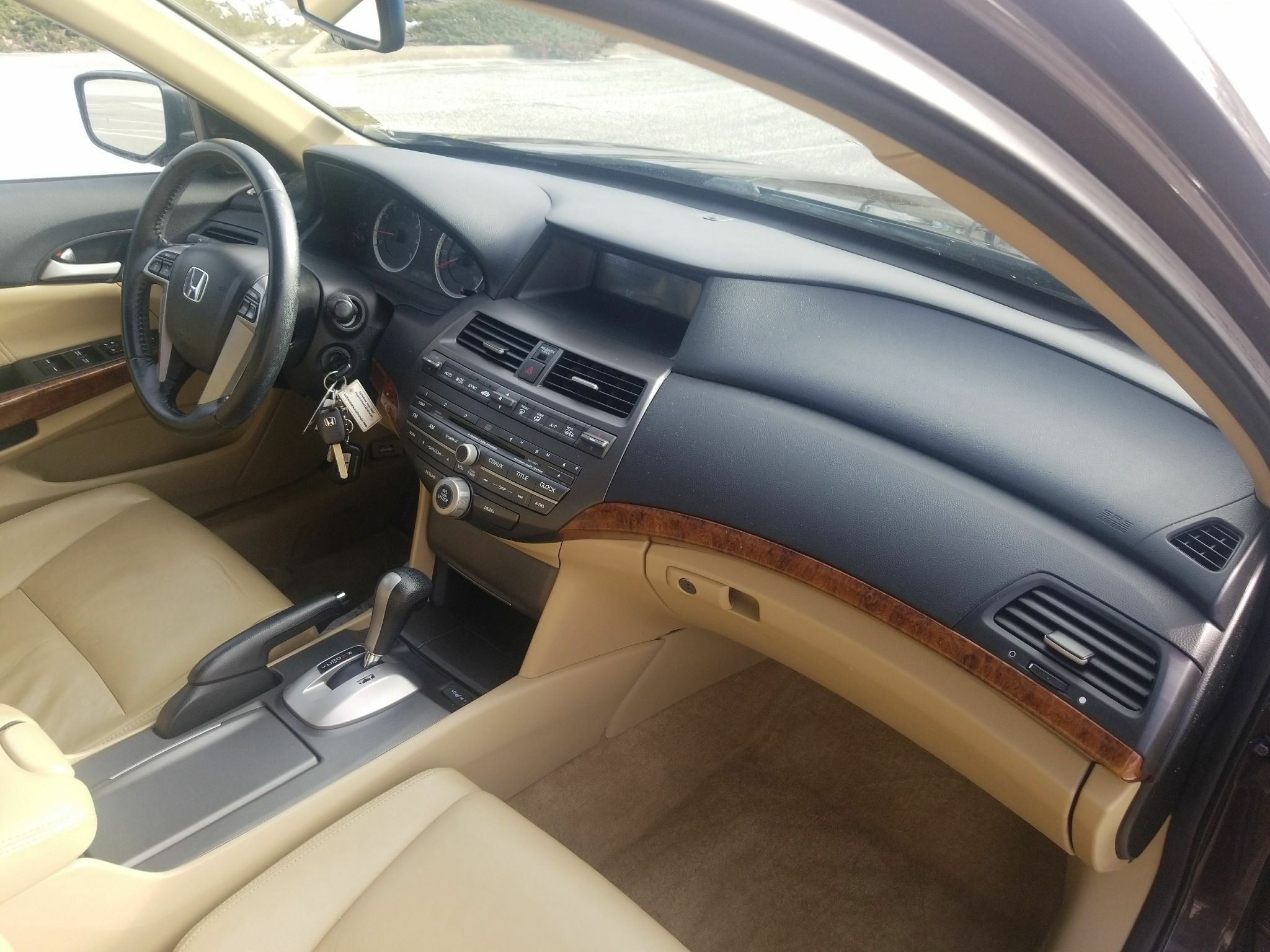2011 HONDA ACCORD EXL for sale at TKP Auto Sales