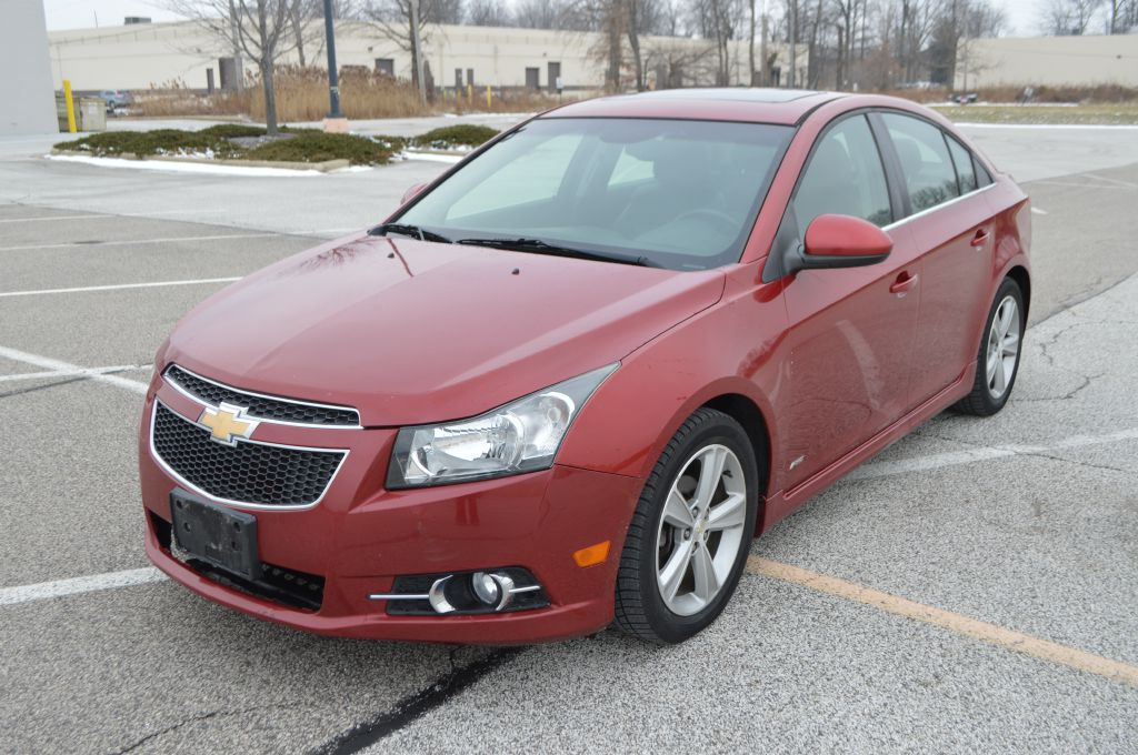2012 CHEVROLET CRUZE for sale at TKP Auto Sales