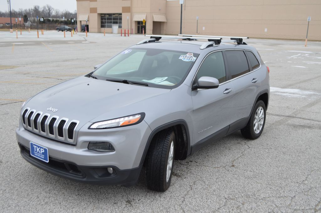 2014 JEEP CHEROKEE for sale at TKP Auto Sales