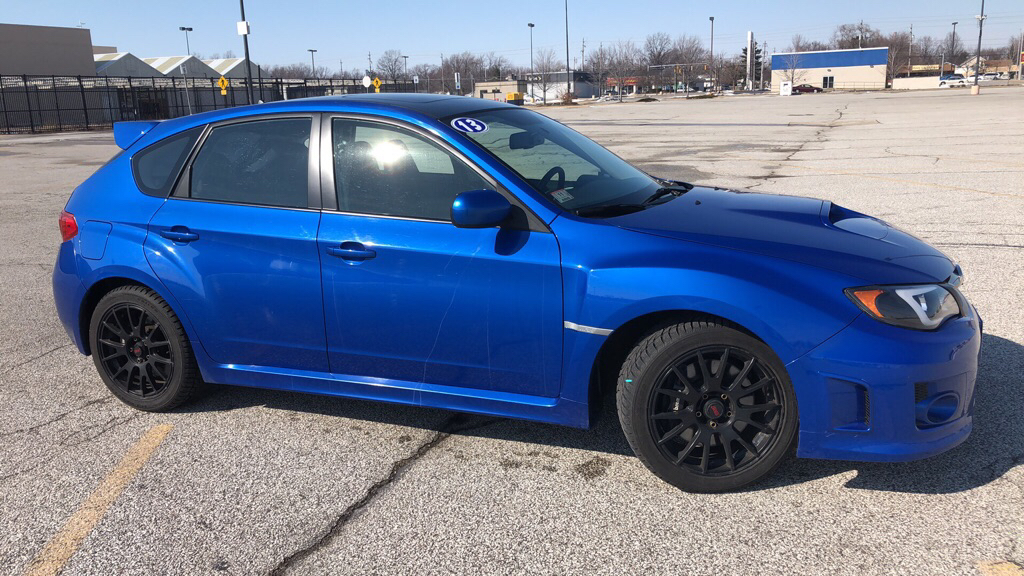 2013 SUBARU IMPREZA WRX for sale at TKP Auto Sales