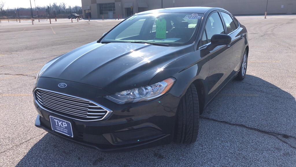 2017 FORD FUSION for sale at TKP Auto Sales