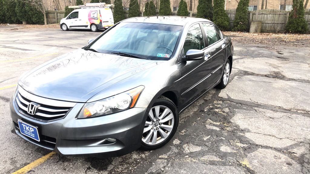 2011 HONDA ACCORD EXL for sale in Eastlake, Ohio