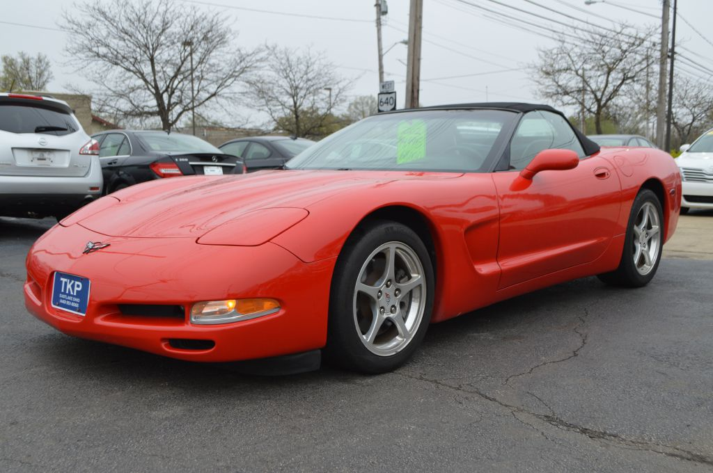 2002 CHEVROLET CORVETTE for sale at TKP Auto Sales