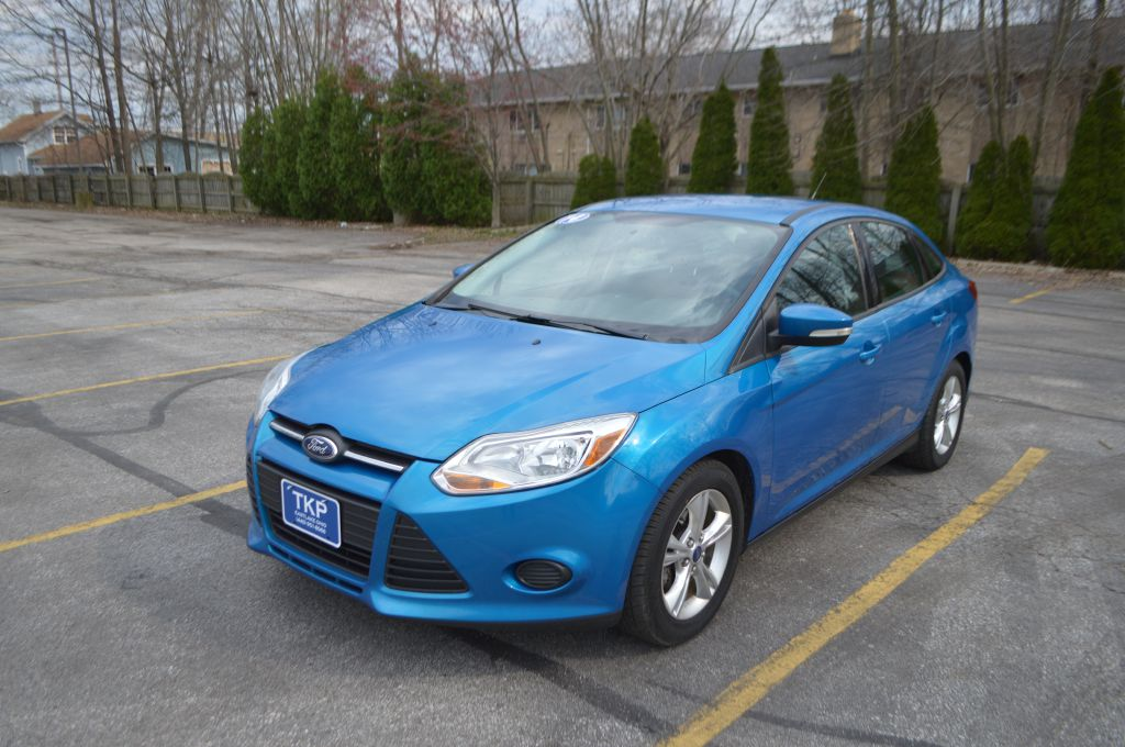 2014 FORD FOCUS for sale at TKP Auto Sales