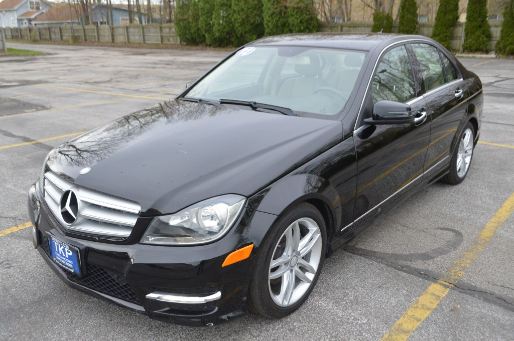 2012 MERCEDES-BENZ C-CLASS for sale at TKP Auto Sales