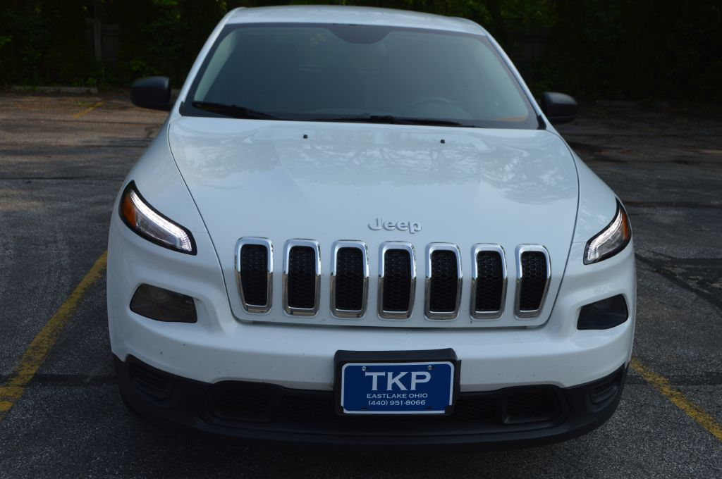 2015 JEEP CHEROKEE SPORT for sale at TKP Auto Sales