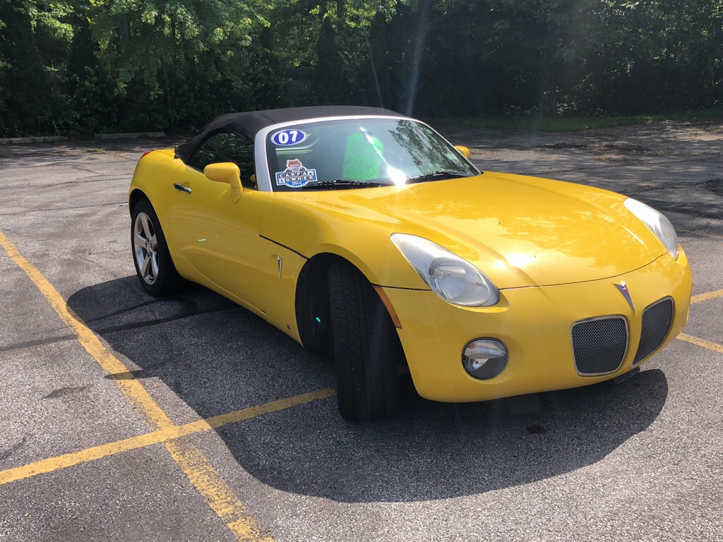 2007 PONTIAC SOLSTICE  for sale at TKP Auto Sales