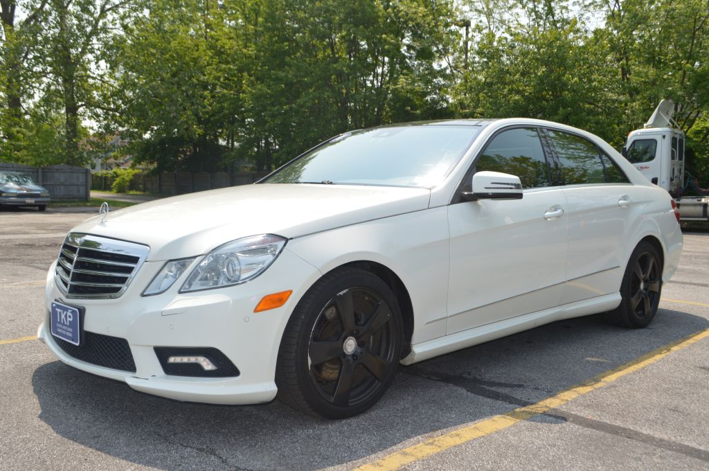 2011 MERCEDES-BENZ E-CLASS E350 4MATIC for sale in Eastlake, Ohio