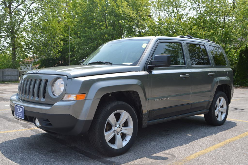 2011 JEEP PATRIOT LATITUDE for sale in Eastlake, Ohio