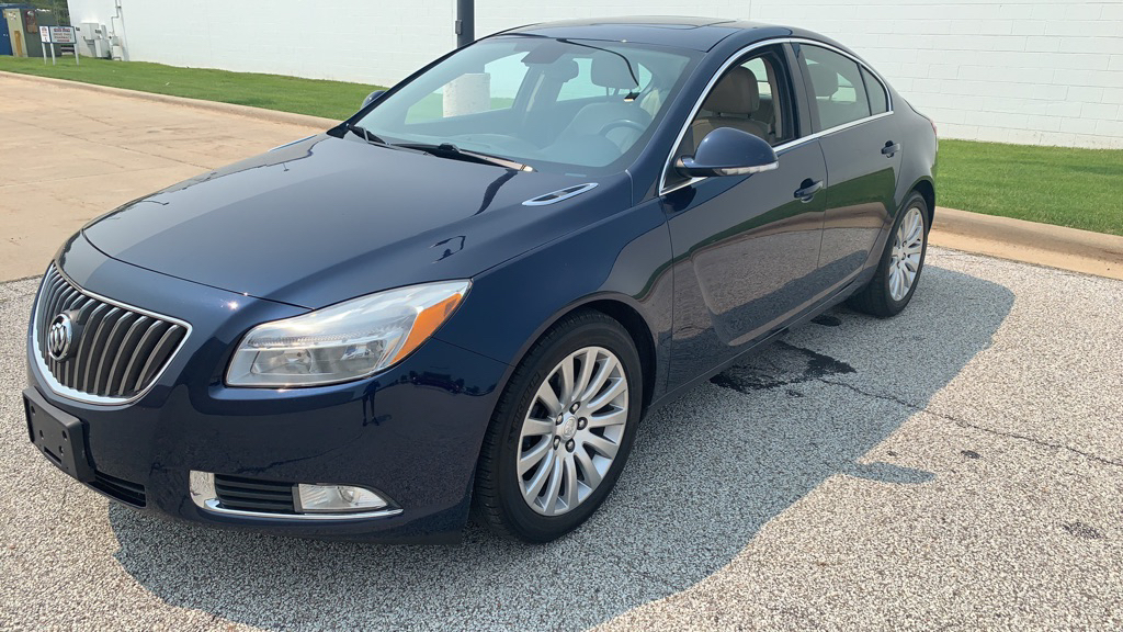 2012 BUICK REGAL  for sale in Eastlake, Ohio