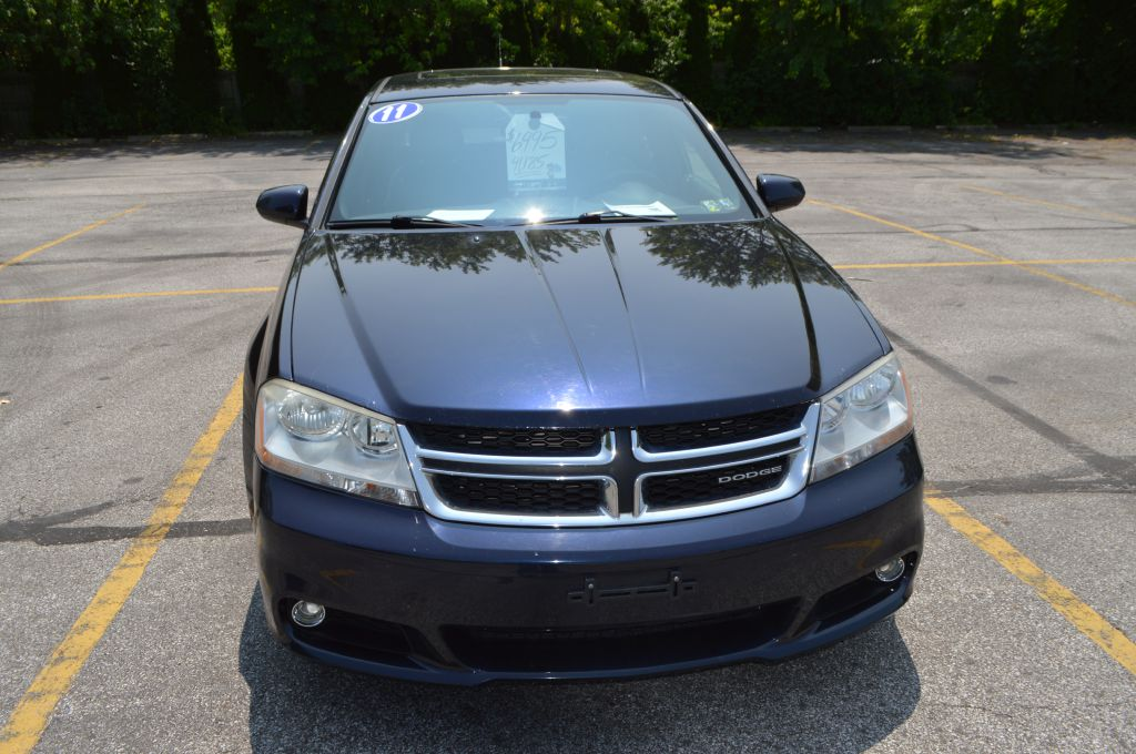 2011 DODGE AVENGER LUX for sale at TKP Auto Sales