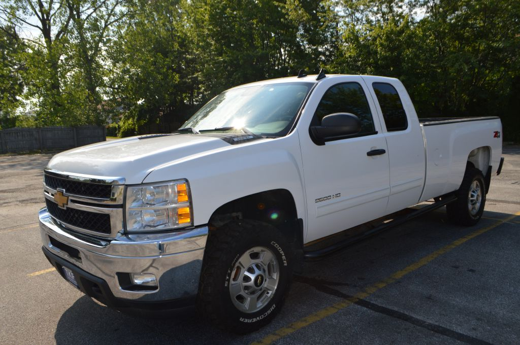2013 CHEVROLET SILVERADO 2500 HEAVY DUTY LT for sale in Eastlake, Ohio