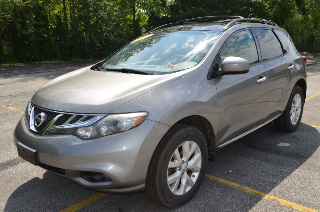 2011 NISSAN MURANO for sale at TKP Auto Sales
