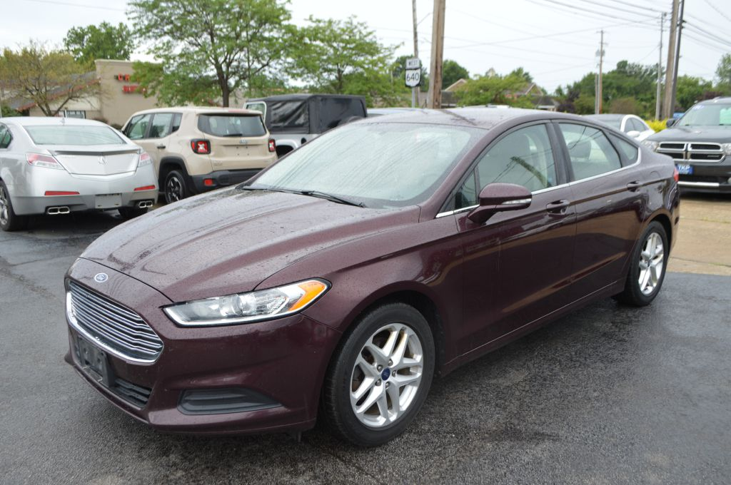 2013 FORD FUSION SE for sale in Eastlake, Ohio