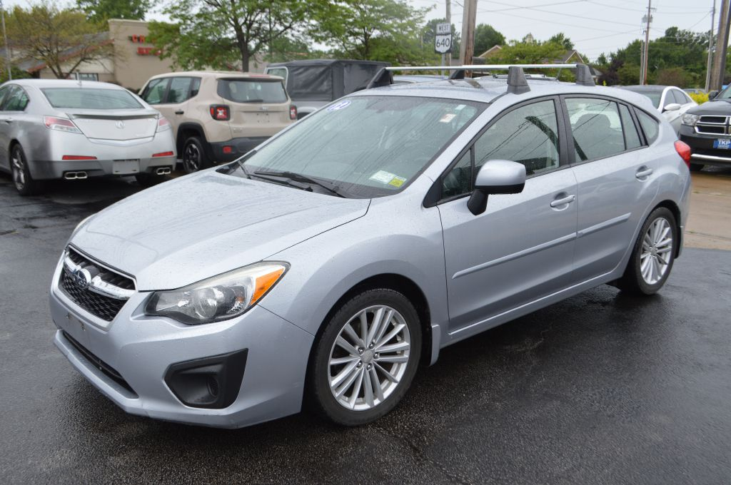2012 SUBARU IMPREZA for sale at TKP Auto Sales