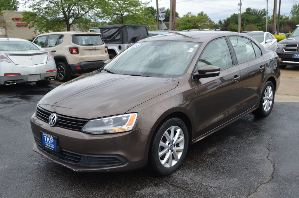 2012 VOLKSWAGEN JETTA for sale at TKP Auto Sales