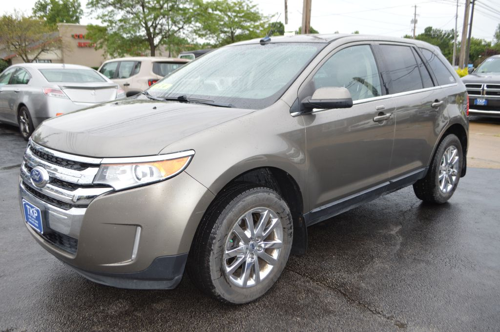 2013 FORD EDGE LIMITED for sale in Eastlake, Ohio