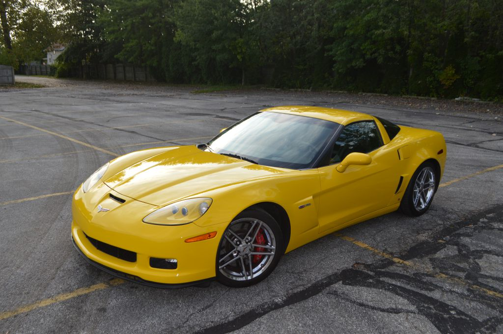2007 CHEVROLET CORVETTE Z06 for sale in Eastlake, Ohio
