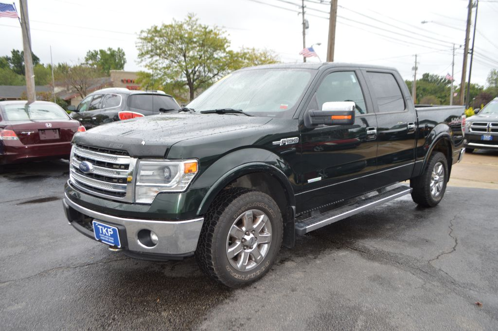 2013 FORD F150 SUPERCREW LARIAT for sale in Eastlake, Ohio