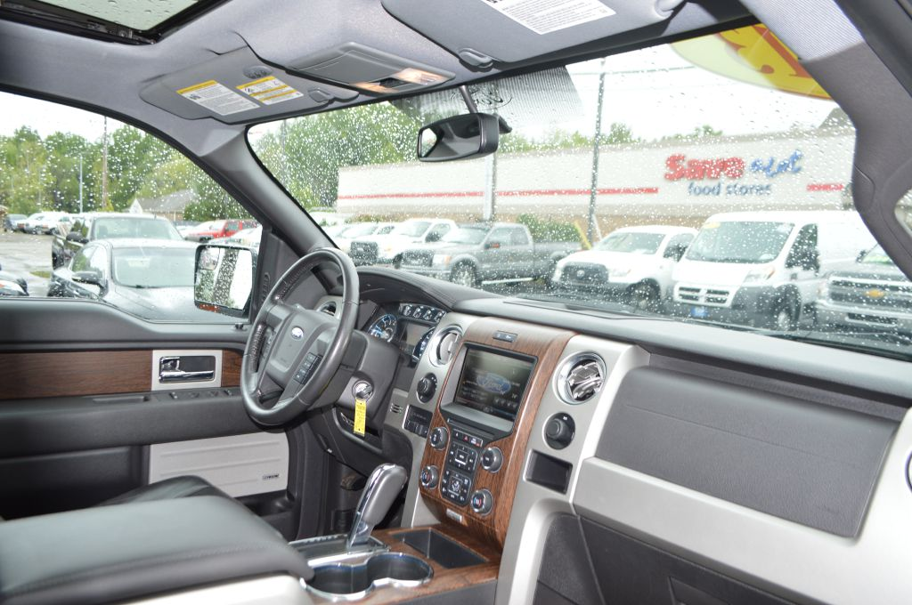2013 FORD F150 SUPERCREW LARIAT for sale at TKP Auto Sales